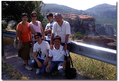 Private Greece Tour Meteora