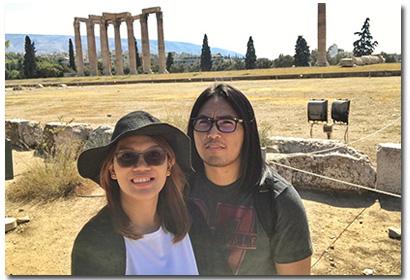 Private Greece Tour Couple