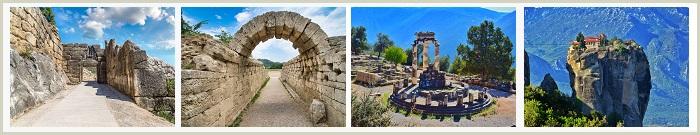 ARGOLIS-OLYMPIA-DELPHI-METEORA (Four Or Five Days)