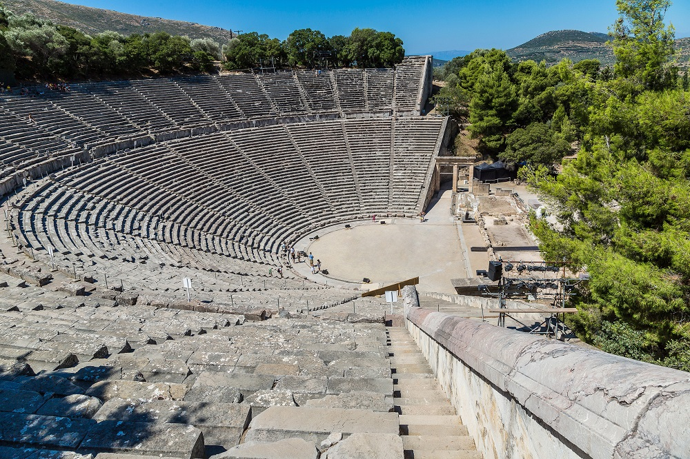 Ancient Theater Epidaurus Argolida Greece