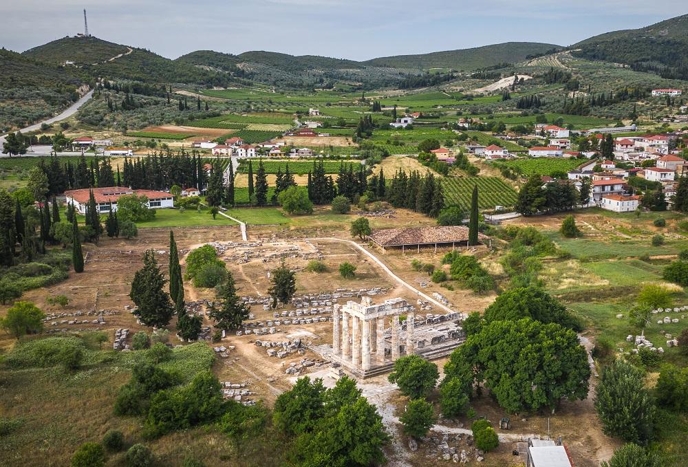 Archaeological place Archea Nemea