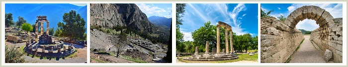 DELPHI And OLYMPIA (Two Day Tour)