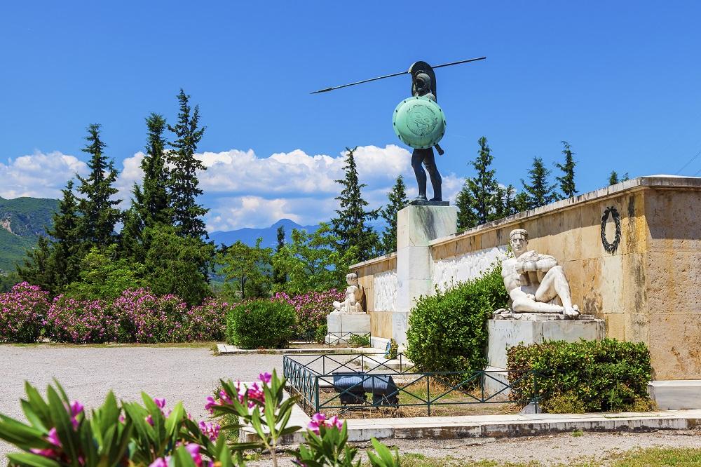 Leonidas Statue Thermopylae Greece