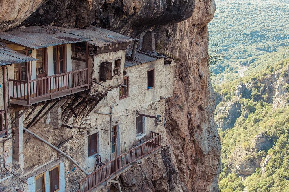 Moni Prodromou Arcadia Region Peloponnese Greece