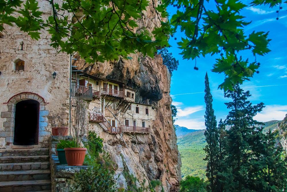 Prodromos Monastery In,Arcadia