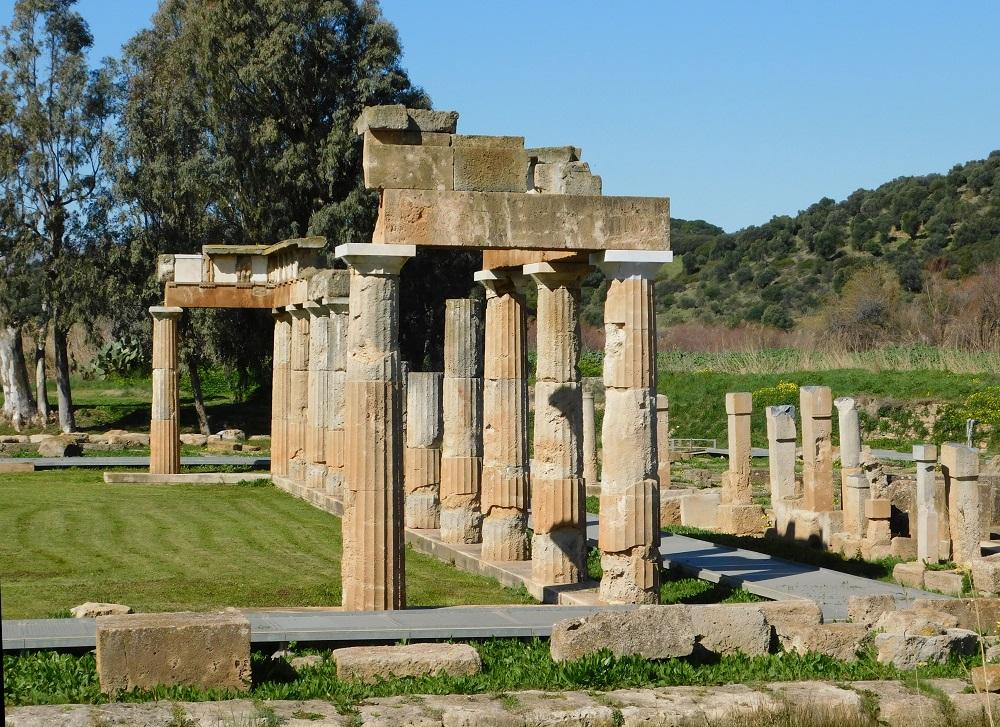 The Ancient Sanctuary Of Artemis