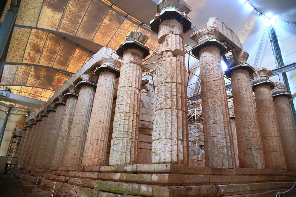 The Apollo Temple At Bassae