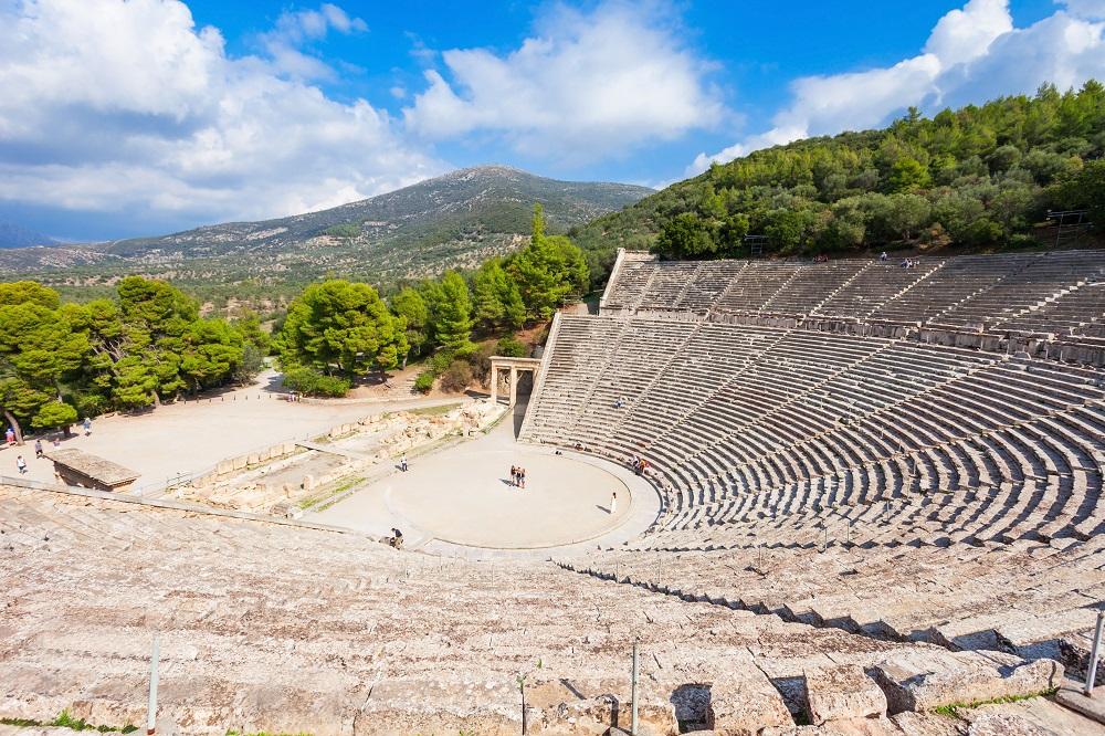The Epidaurus Ancient Theatre