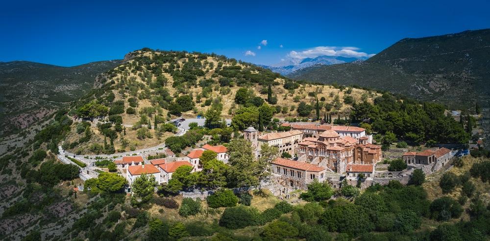 The Famous Monastery Of Hosios Loukas