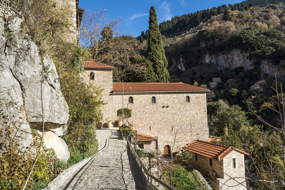The Monastery Of Our Lady Of Emialon At Dimitsana Greece