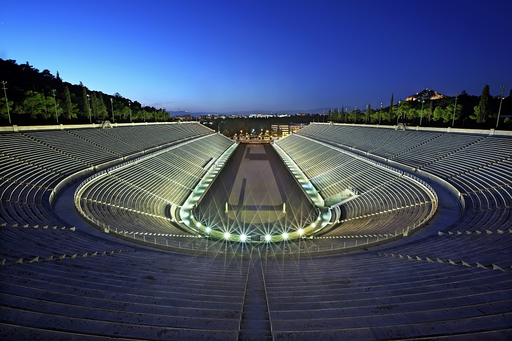 The Panathenaic Stadium Athens Greece