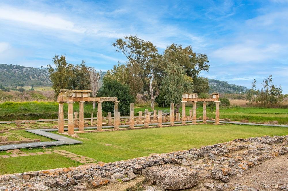 The Temple Of Ancient Goddess Artemis In Brauron (vravrona)