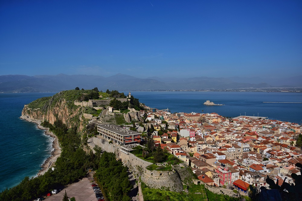 The fortress of Nafplio