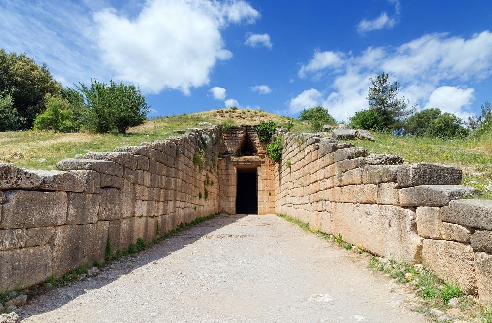 Treasury Of Atreus Mycenae Greece